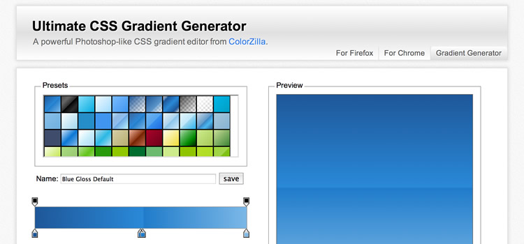Ultimate CSS Gradient Generator