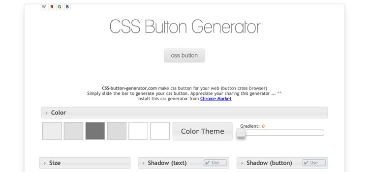 CSS Button Generator